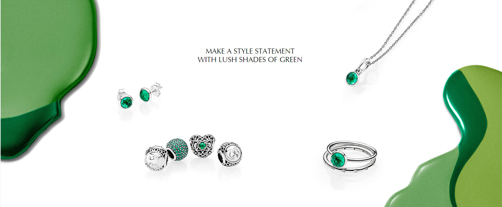 Pandora Green Birthstone Collection Available at The Diamond Center in Janesville & Madison!