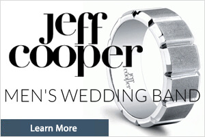 Jeff Cooper - Mens Wedding Bands