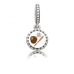 22b83a81f Whether you're a baseball fan, little league mom or both, proudly wear this  charm from the stands as you root for your favorite team.