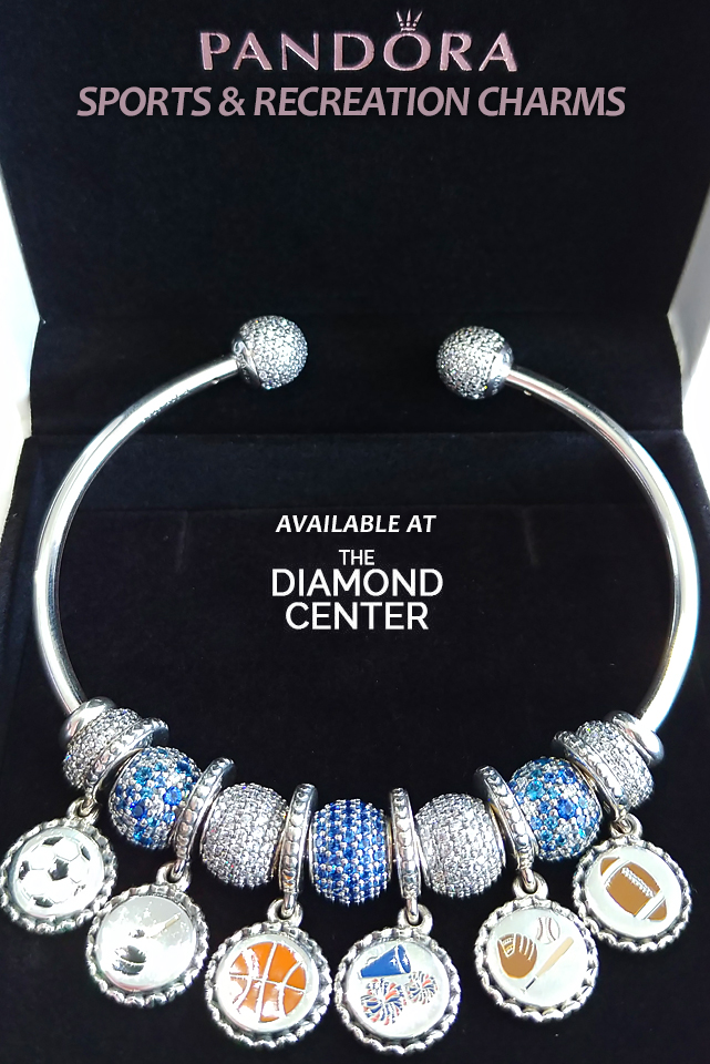 51c90e9de Introducing PANDORA Sports & Recreation Charms – Available at The  Janesville & Madison Jewelry Stores!