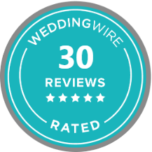 Rated on WeddingWire.com