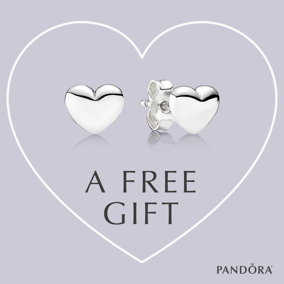 b7152ae1d Receive Free PANDORA Stud Earrings with Purchase — The Diamond Center:  Where Wisconsin Gets Engaged