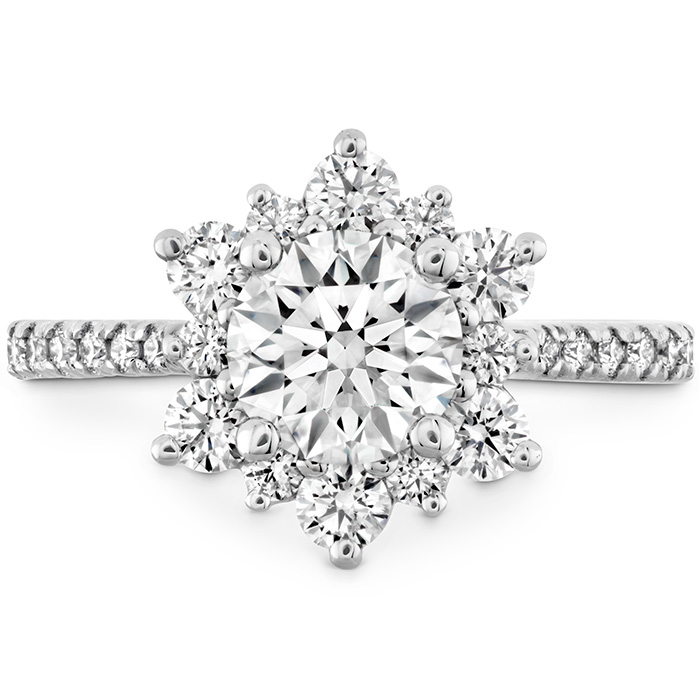 DELIGHT LADY DI - DIAMOND BAND ENGAGEMENT RING