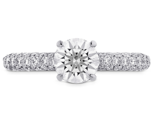 EUPHORIA HOF ENGAGEMENT RING - DIAMOND BAND