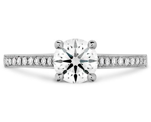 ILLUSTRIOUS ENGAGEMENT RING-DIAMOND BAND