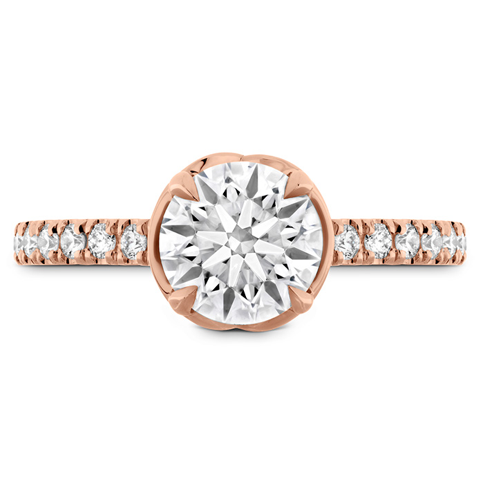 JULIETTE DIAMOND BAND ENGAGEMENT RING