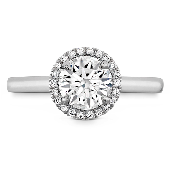 JULIETTE HOF HALO ENGAGEMENT RING