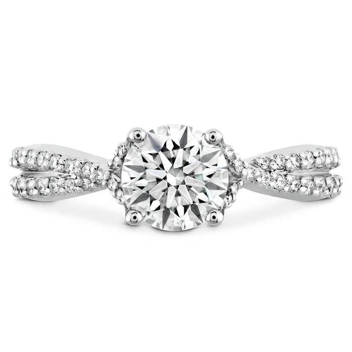SIMPLY BRIDAL DIAMOND INTENSIVE TWIST ENGAGEMENT RING