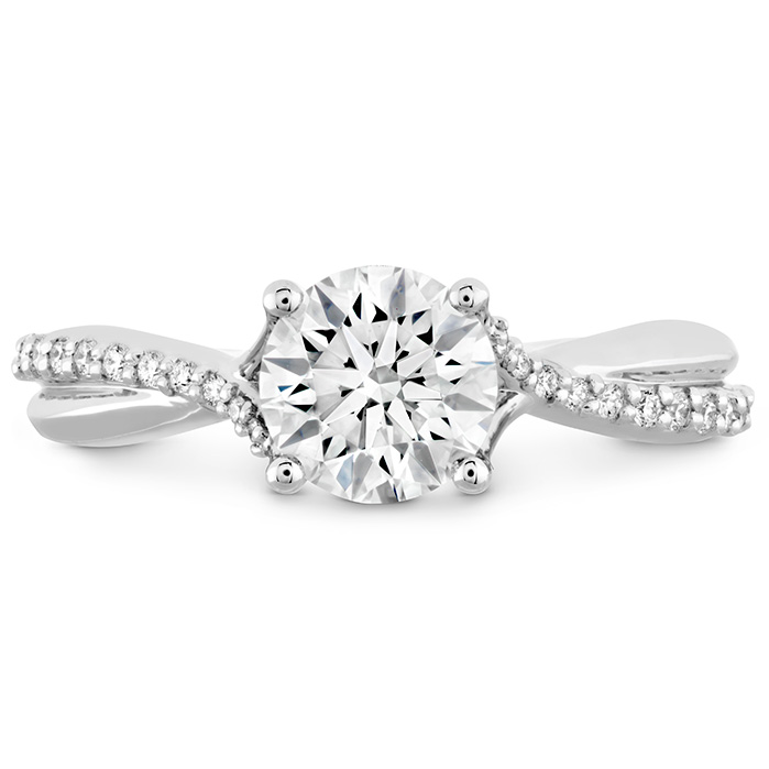 SIMPLY BRIDAL DIAMOND TWIST ENGAGEMENT RING