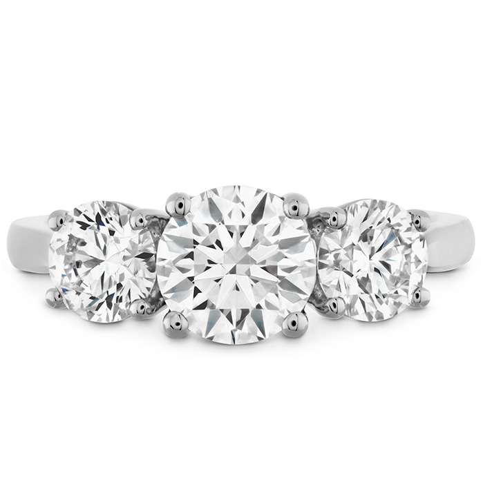 SIMPLY BRIDAL THREE STONE ENGAGEMENT RING