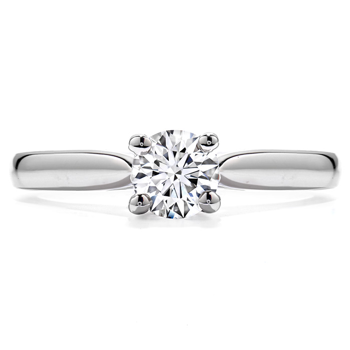"PURELY BRIDAL FOUR PRONG ""V"""
